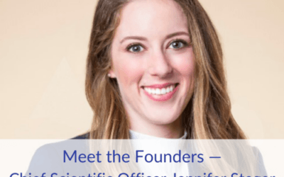 Meet the Founders — Chief Scientific Officer Jennifer Steger