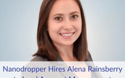 Nanodropper Hires Alena Rainsberry to Lead Account Management