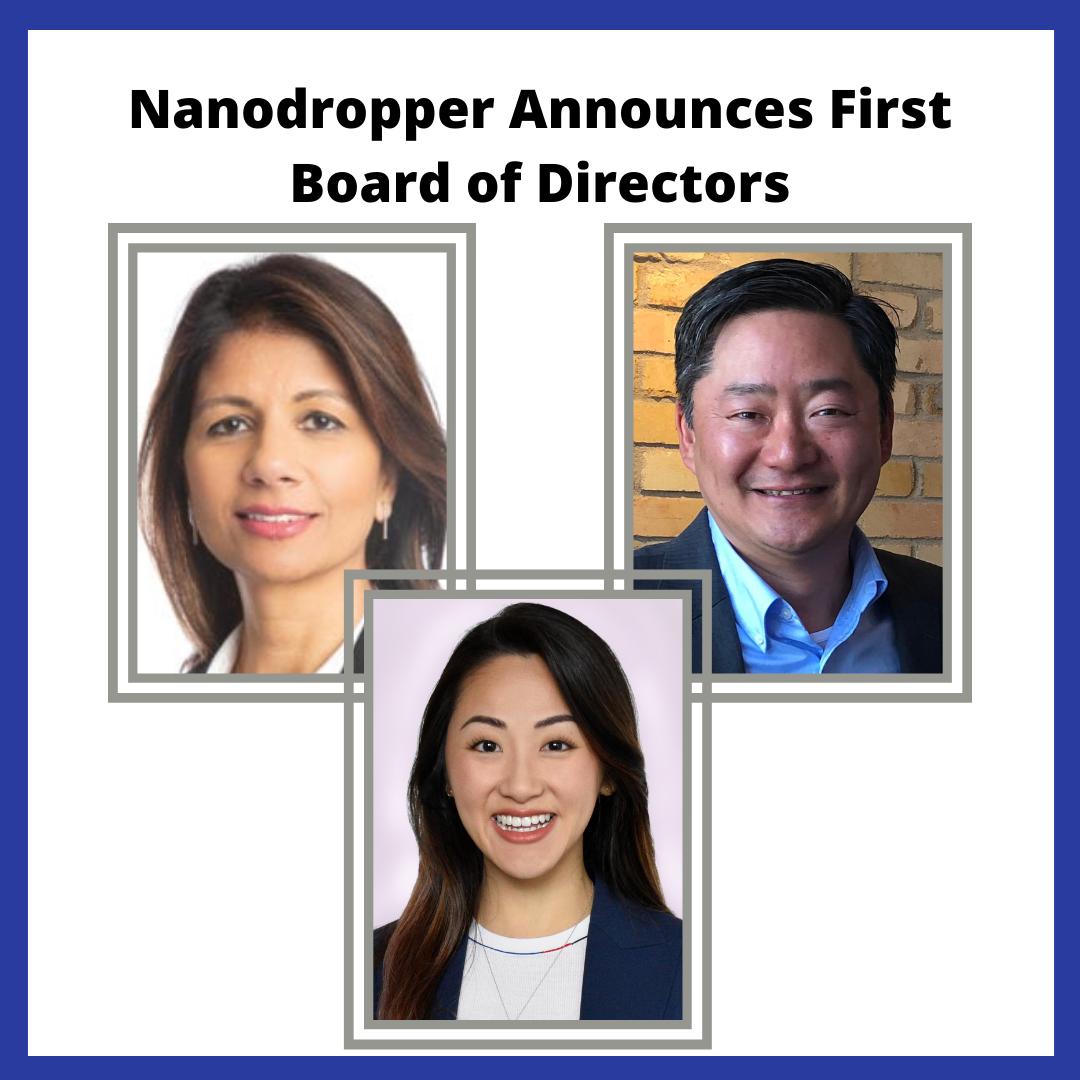 nanodropper board of directors
